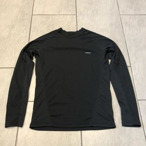 Patagonia Men's Pullover Long Sleeve Top Black
